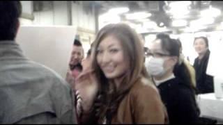 熊田曜子さん『TV・魔法のレストラン』のロケにて京都中央卸売市場を訪...