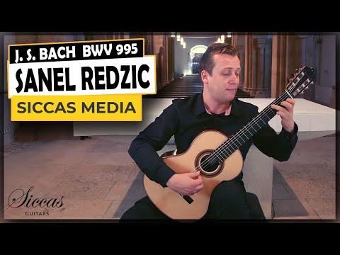 Siccas Media Presents Sanel Redžić - Prelude & Très Viste BWV 995 By Johann Sebastian Bach