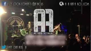 """Attack Attack! - """"The Wretched"""" LIVE! (Scream It Like You Mean It 2012)"""