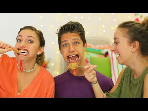 The Mouthguard Challenge | Brooklyn and Bailey