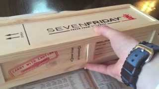 Brand New Sevenfriday M2-2 unboxing