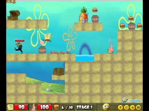 Spongebob Great Adventure 2 (Большие приключения Губки Боба 2) - прохождение игры