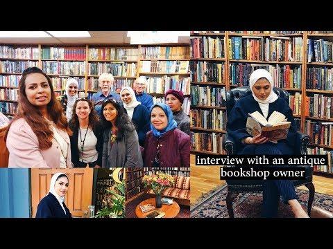Short interview with an antique bookshop owner - مقابلة مع صاحب مكتبة