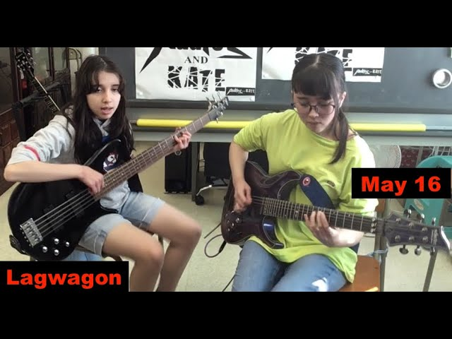 #Lagwagon - May 16 - guitar + bass #cover #ラグワゴン
