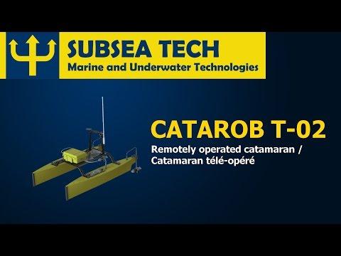 SubseaTech - CATAROB ATS-03 - Remotely operated catamaran / Catamaran télé-opéré