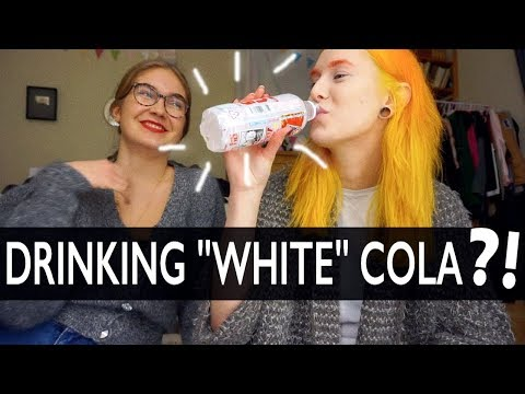 Taste Test: White Coca Cola?! with my boo Nico