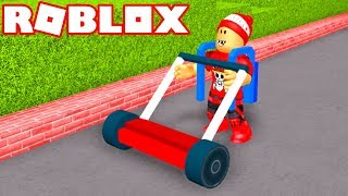 Roblox → LAWN MOWER SIMULATOR!! -Lawn Mowing Simulator 🎮