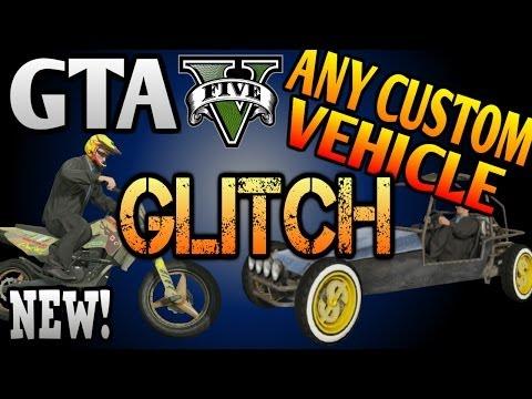 GTA 5 ONLINE: NEW Vehicle GLITCH! Customize ANY Vehicle (Motorcycles, Dune Buggys, etc.)