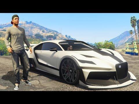 NEW $2,325,000 BUGGATI SUPERCAR DLC! (GTA 5 CASINO DLC)