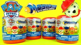 PAW PATROL MASHEMS Surprise Eggs Opening New Nick Jr Toys Review Family Friendly Video
