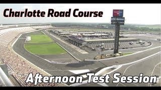LIVE: Testing at Charlotte Motor Speedway (1pm-5pm)