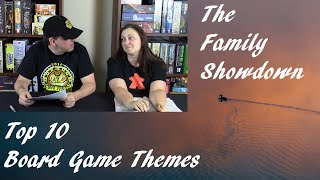 Top 10 Board Game Themes