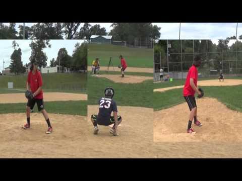 Kyle Berman (Owings Mills High School 2019) -- September 26, 2015 Stallions Baseball Bullpen Session