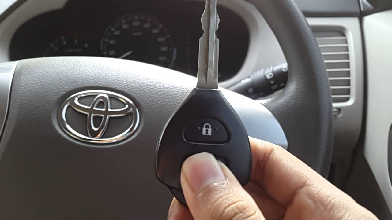 Cara Setting Alarm Grand New Avanza Harga Toyota Yaris Trd Tahun 2014 Mengatur Sensitivitas Innova Youtube
