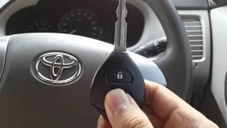 Mengatur sensitivitas alarm Toyota Innova