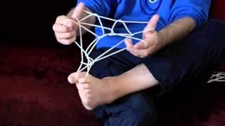 How to Make Papua New Guinea String Figure No. 26 SAPANAMA  frog)