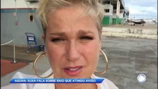 """""""Pensei muito na minha filha e na minha mãe"""", desabafa Xuxa sobre incidente aéreo"""