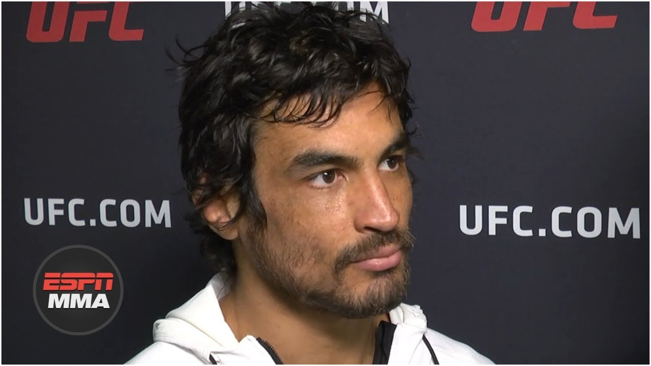 Kron Gracie talks UFC debut, wants top-10 opponent next | UFC Fight Night | ESPN MMA