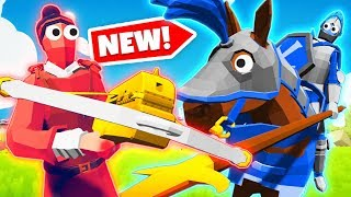 NEW Incredible SECRET Units In TABS! Which Is BEST? (Totally Accurate Battle Simulator Gameplay)