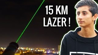 15 KM Menzilli Lazer ! (Esrarengiz Hediye😱)