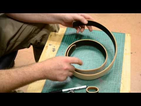 How to make a simple belt