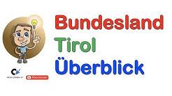 Bundesland Tirol Überblick