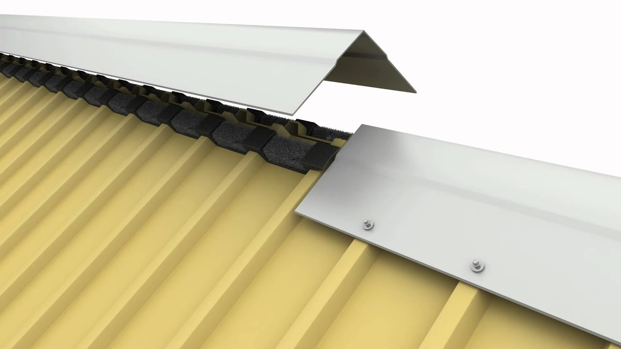 Metal Roofing Ridge Cap Seal 12 300 About Roof