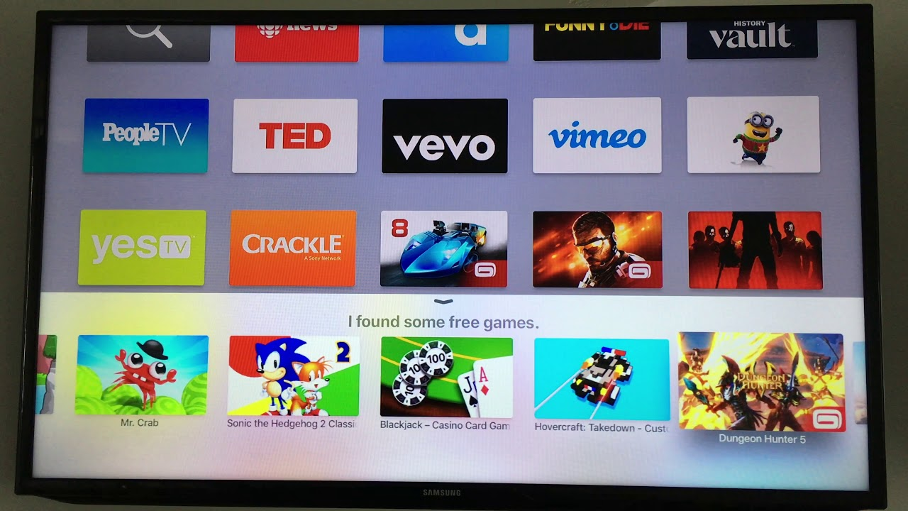 How to Download FREE Games Apps for Apple TV 4 - no jailbrake - no hacking