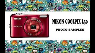 Nikon Coolpix L30 photo samples.