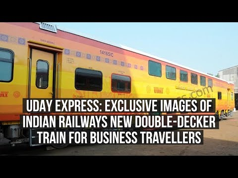 UDAY Express: Exclusive Images Of Indian Railways New Double-Decker Train For Business Travellers