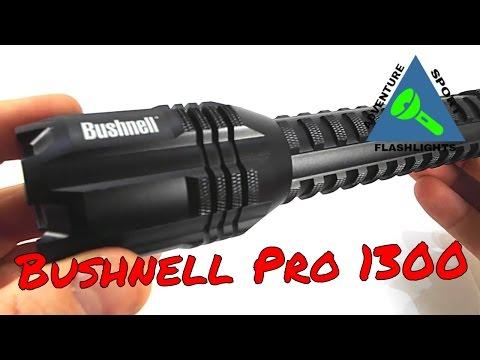 Bushnell Pro 1300 USB Rechargeable Flashlight