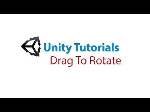 Unity Tutorials: Drag To Rotate Object