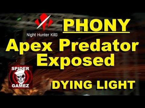 Dying Light - Zombie Invasion - Fake Apex Predator Exposed