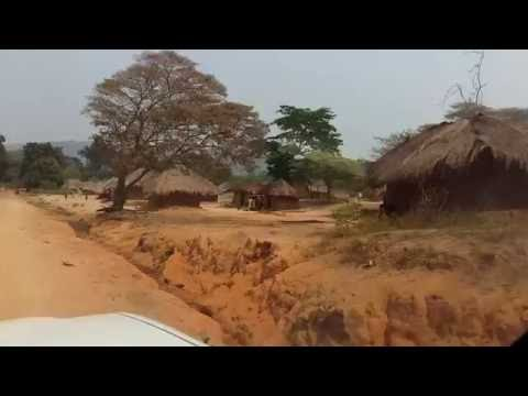 DR Congo Village road