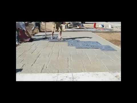 Hormigon impreso hd aplicacion a camara rapida de como for Cuanto cuesta el metro de hormigon