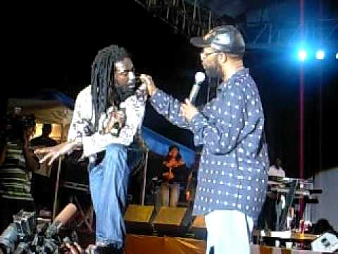 Lady Jacquelyne Th Bere's Hammond Buju Banton Rock th world Jamaica 040