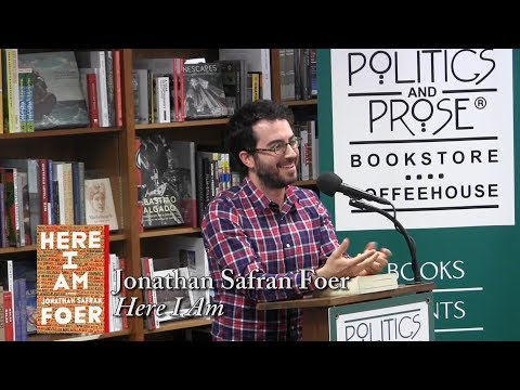 "Jonathan Safran Foer, ""Here I Am"""
