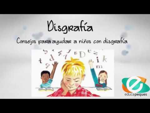 Disgrafía Consejos Para Ayudar A Niños Con Disgrafía Youtube