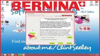 BERNINA Embroidery Software Designer Plus Version 7 Install