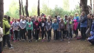 Рассказово. Осенний школьный кросс 2016, Девушки 500 м. 7-9 кл.
