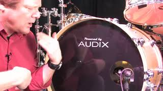 Kick Drum Miking with the Audix D6