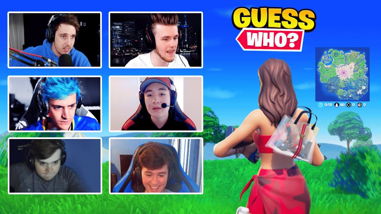 Guessing The Fortnite Player From Their Gameplay (FaZe Jarvis Edition)