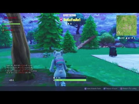 Rush Limbaugh x John Wick : Fortnite gameplay