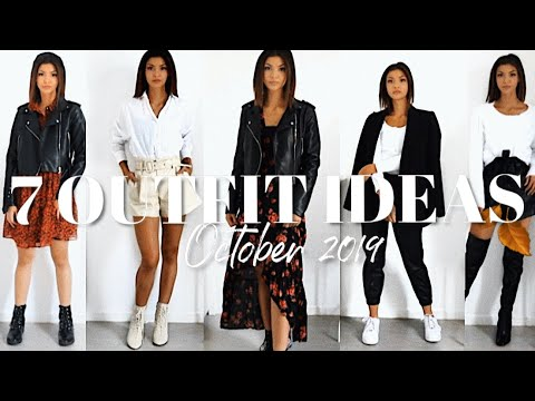 [VIDEO] - 7 AUTUMNAL OUTFIT IDEAS FOR FALL - LOOKBOOK HAUL AUTOMNE 2019 Octobre LISA NGO 1