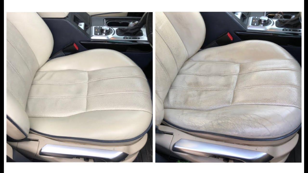 Range Rover L322 Drivers Seat, Armrest & Door Leather Repair