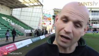 Saints 27-12 Scarlets: Jim Mallinder Reaction