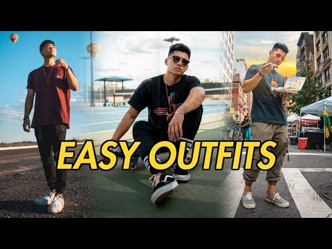 3 Easy Simple Outfits | Men's Fashion Summer Lookbook