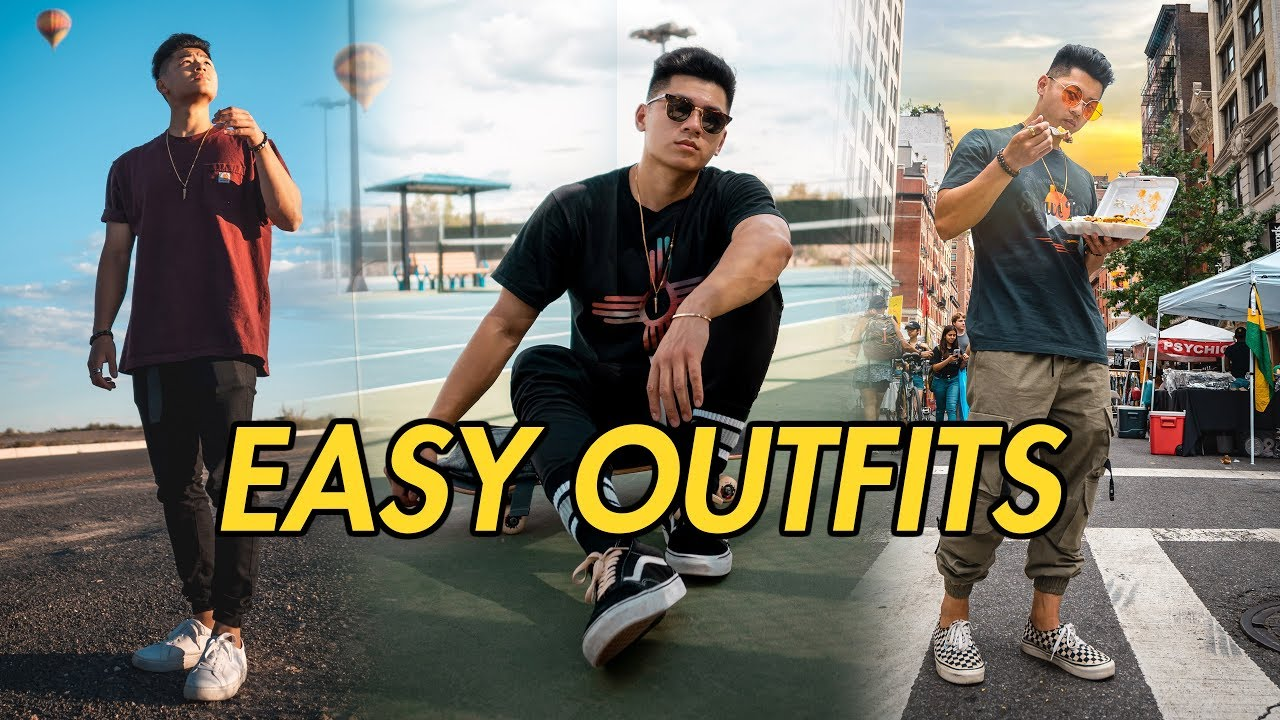 3 Easy Simple Outfits | Men's Fashion Summer Lookbook 2