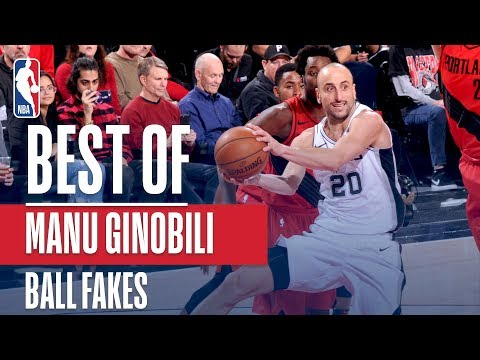 Manu Ginobili: Master of the Ball Fake