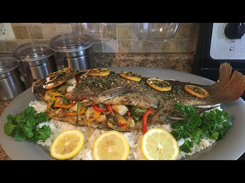 HOW TO STUFFED TILAPIA WITH SEAFOOD